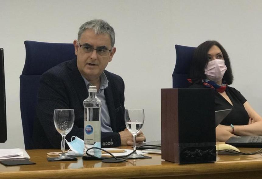 José Ferrándiz Lozano y Marián Abellán